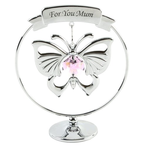 Crystocraft For You Mum Ornament - Crystals From Swarovski®