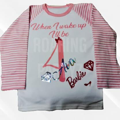 Personalised Pyjamas - Pink