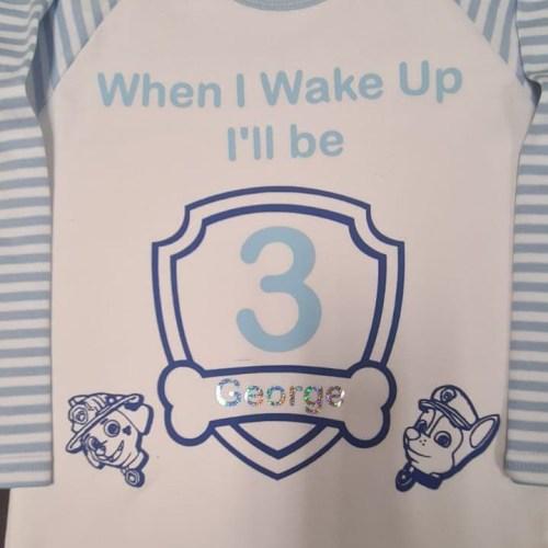 Personalised Pyjamas - Blue