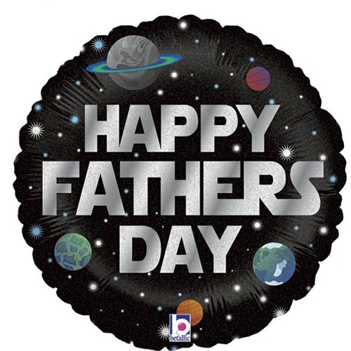 18 Inch Galactic Father's Day Balloon