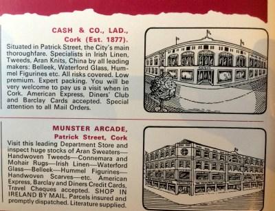 Vanished Cork institutions