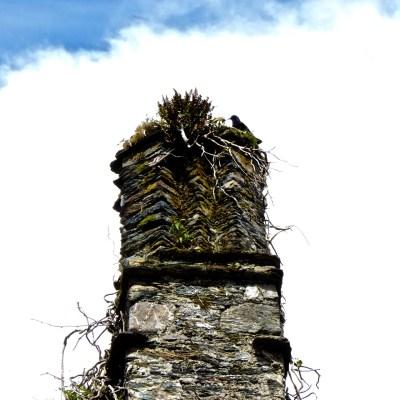 Chimney still intact