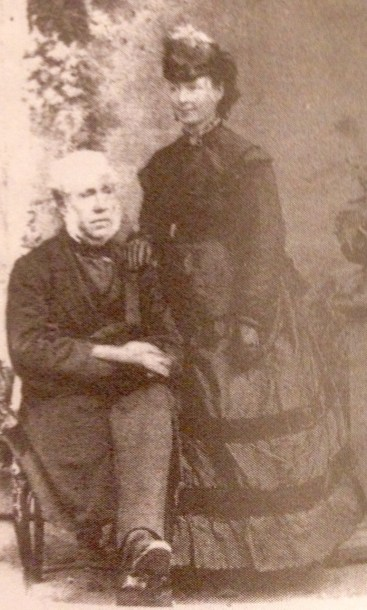 Henry Thomas and niece 1870