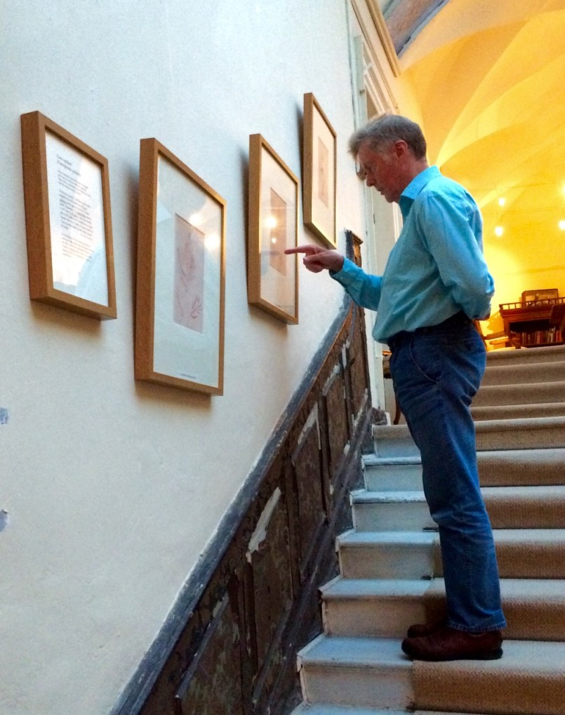 Robert at the Bantry House Exhibition