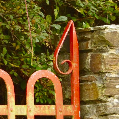 Gate post, Bishop's Luck