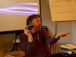 Ben teaching
