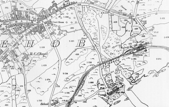 Ballydehob Station map