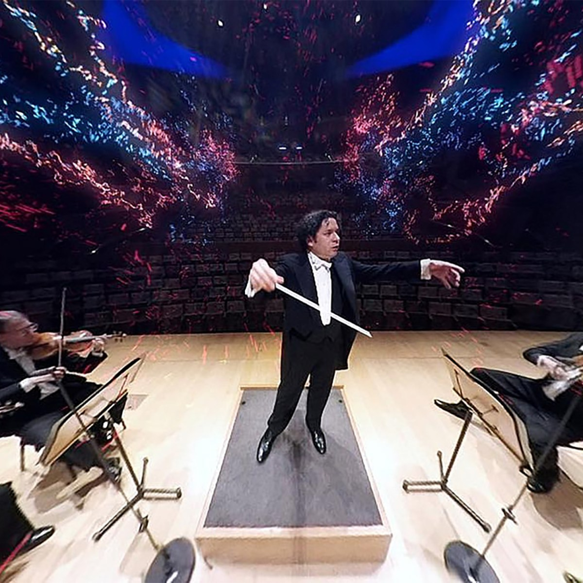 Gustavo Dudamel at the LA Phil