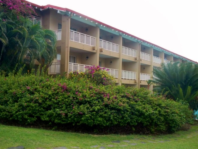 Our hotel, Sandals Grande St. Lucian