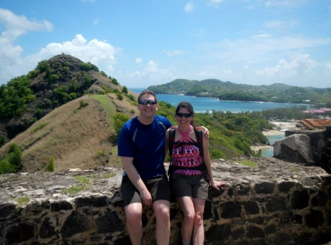 Great views from Pigeon Island