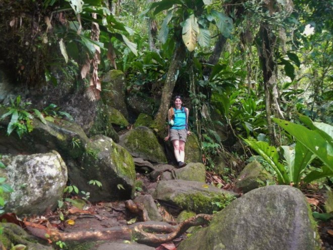 Interesting spot on the hike of Gros Piton Photo credit: Frank