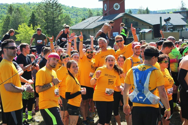 Team 2020 VisionQuest at the start line Photo Credit: Frank