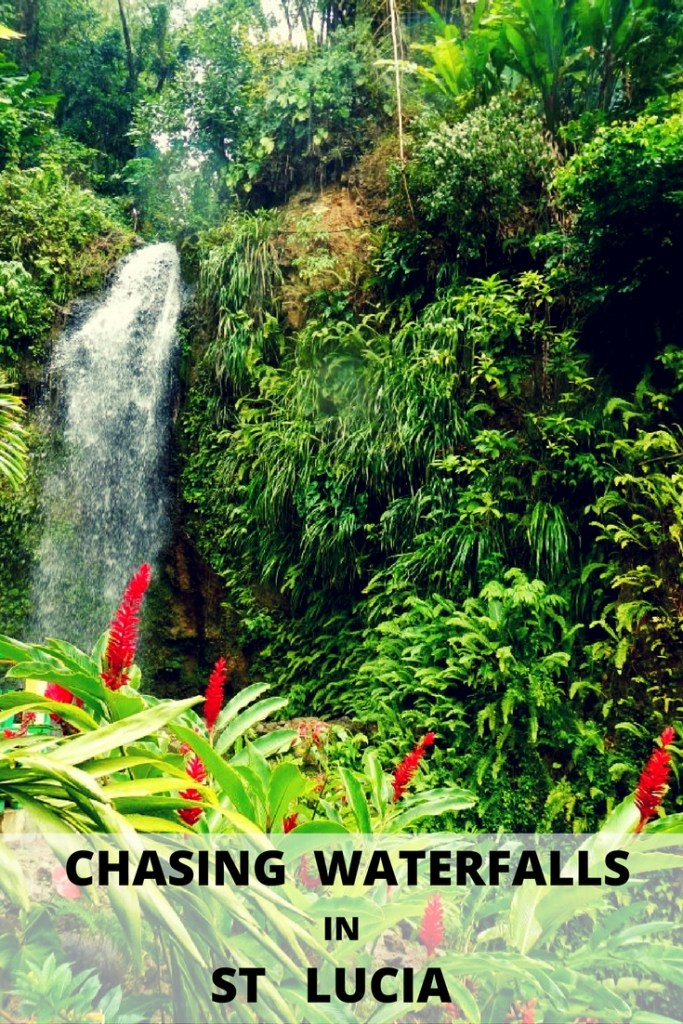 Chasing waterfalls in St. Lucia