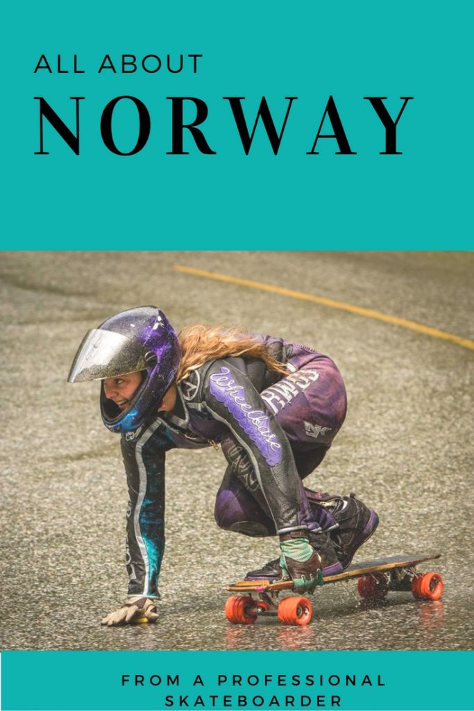 Norway as Seen by a Professional Downhill Skateboarder