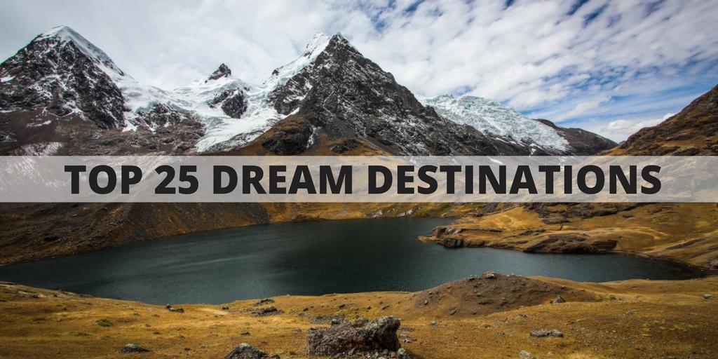 Top Dream Destinations Around The World RoarLoud - 25 amazing landscapes around world seen