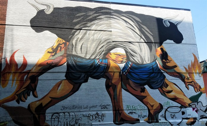 Bewitching Street Art and More at the Montreal's Mural Festival
