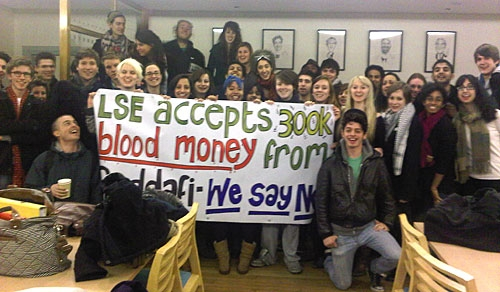 Post image for Statement by LSE Students in Anti-Gaddafi Occupation