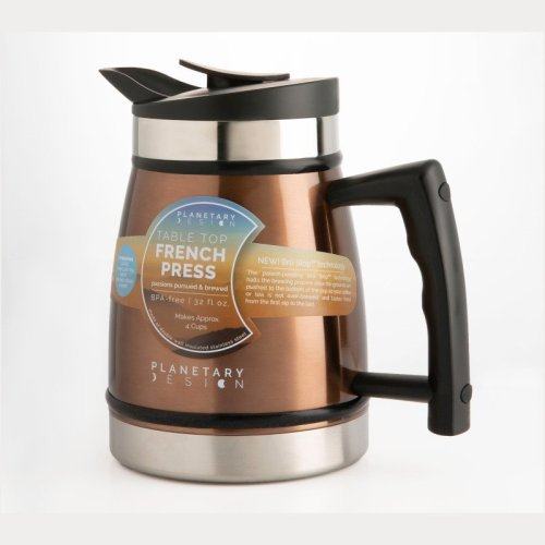 Planetary design 32 oz thermal French Press coffee maker