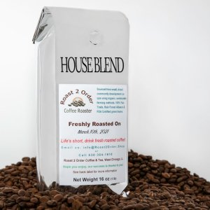 House Blend Fresh Roasted Coffee