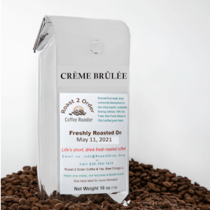 Creme Brulee Flavored Whole Coffee Beans