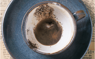 What to do with the Silt or Grounds in your Press or Coffee Cup