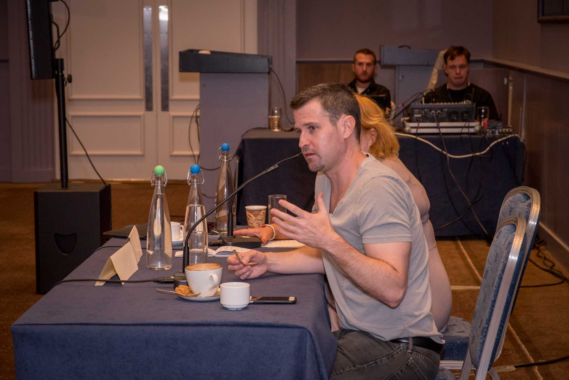Writer/Director Richard Kelly discusses screenwriting at Galway Film Fleadh.