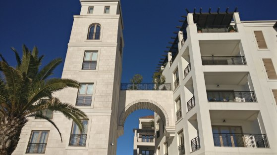 Shining stone buildings of Tivat