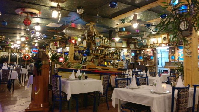 Restaurant on Marina - A little past its prime