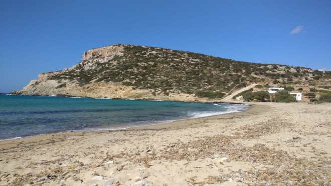 Beach in Antiparos