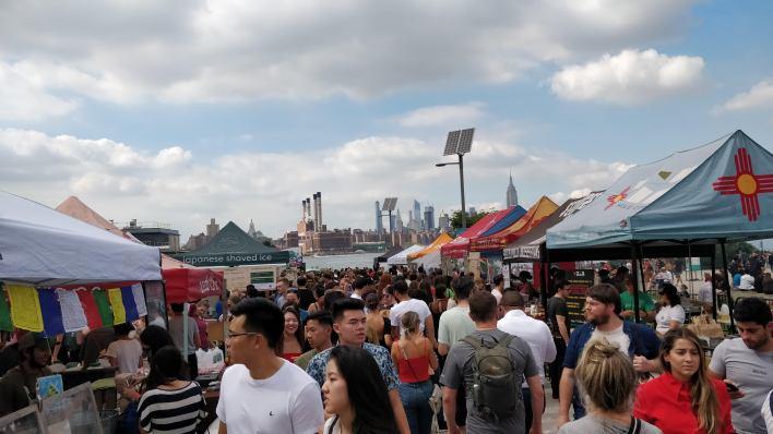 Market in Williamsburg