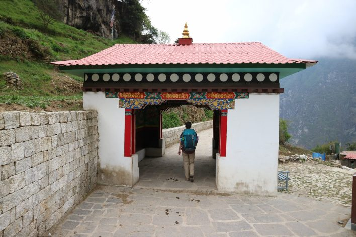 All along the way these beautiful archways mark the entrances to many of the villages | Everest Base Camp Itinerary