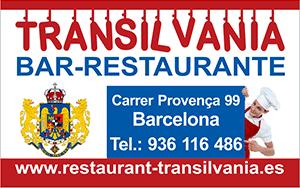 restaurant barcelona transilvania