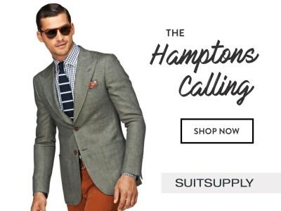 Suitsupply Digital Ads