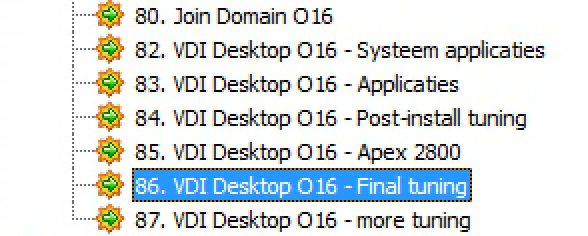 Tuning Microsoft Windows 10 for VDI - Part3 : services and scheduled