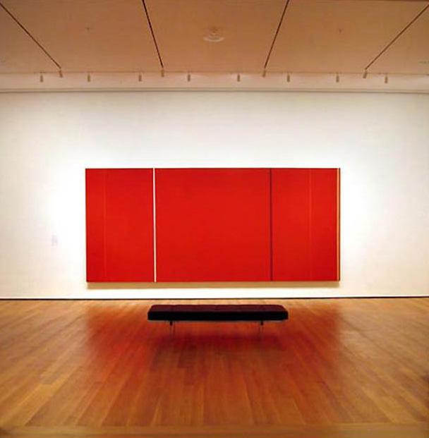 Barnett Newman, Vir Heroicus Sublimis (heroic sublime man), 1950-51, at MoMA , New York