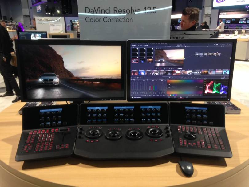 demo of davinci resolve 12.5