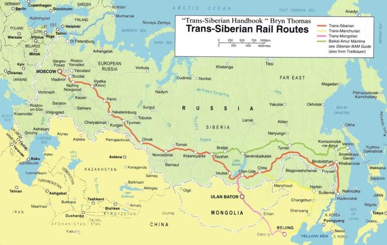 Russian Railway map1