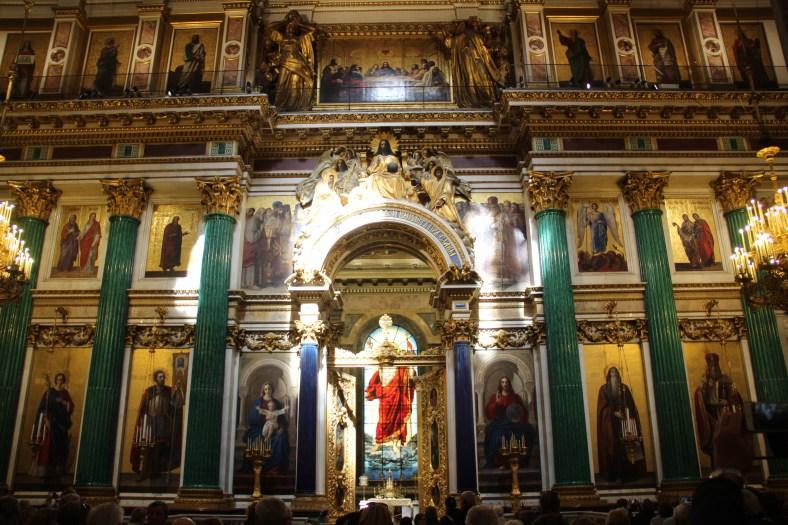 St Isaacs - Iconostasis