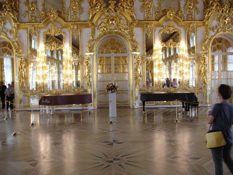 Tsarskoe Selo - Catherines Palace - Ballroom