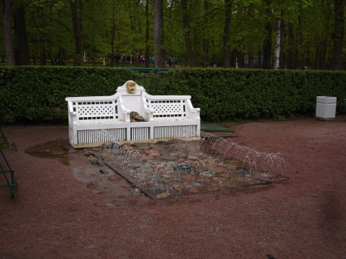 Peterhof - Trick Fountain