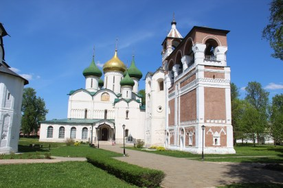 Suzdal - Cathedral of the Transfiguration and Bell Tower