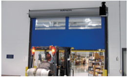 commercial traffic garage doors