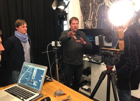 Live studio for Russ Media