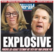 Boston Herald - Friday's front page: #KavanaughHearings