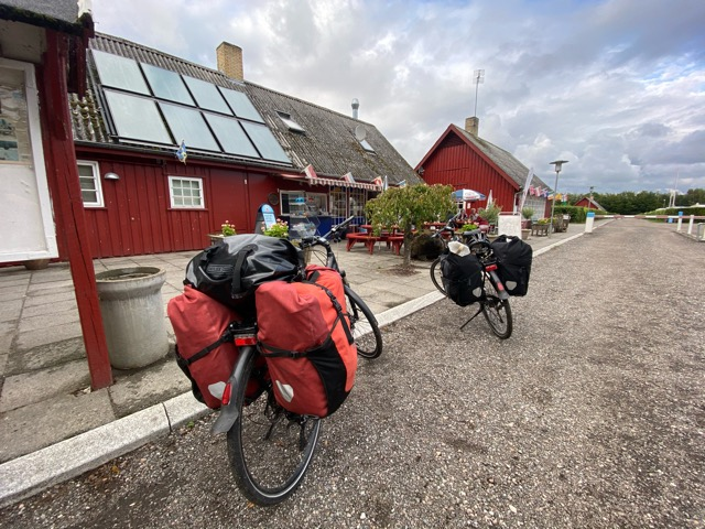 bikes with travel bags