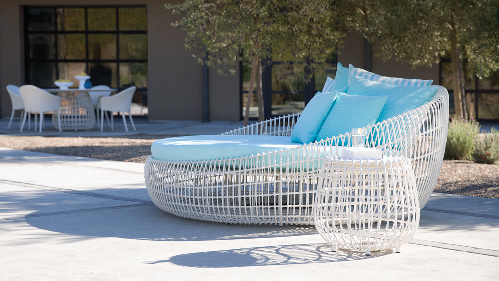 luxury outdoor furniture that brings curves to the forefront robb report