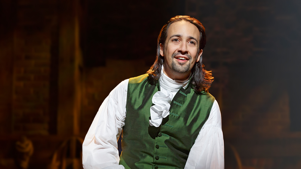 Image result for lin manuel hamilton