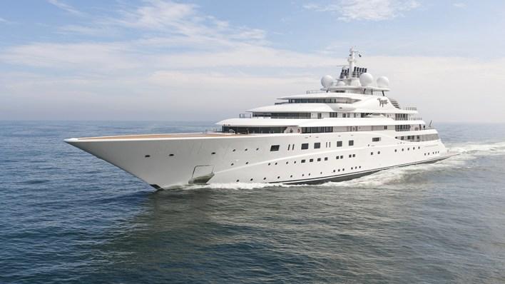 Lürssen Topaz largest yachts in the world