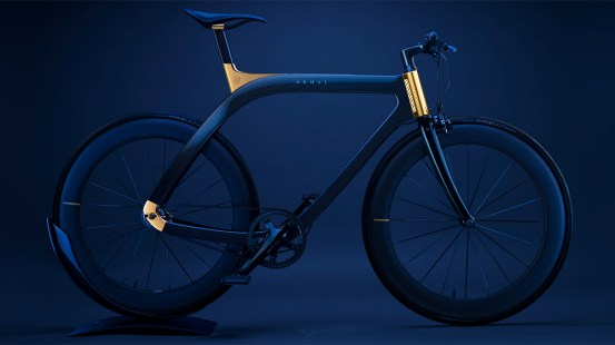Extans 'new Akhal Sheen bike is a tall two-wheeled piece of jewelry – the Robb Report