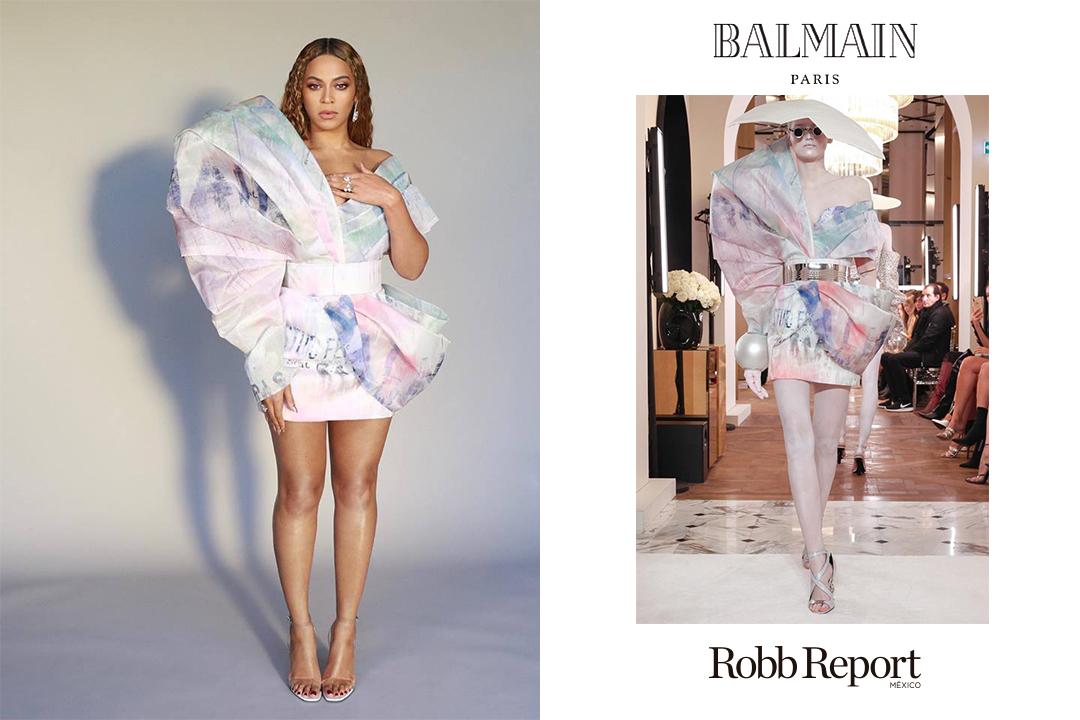 01 Beyonce Grammy - Estas son las marcas favoritas de lujo de los nominados al GRAMMY